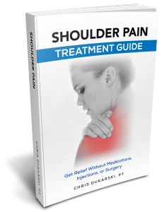 shoulder pain treatment guide book