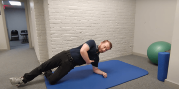 Are you doing these exercises for your hips and glutes?